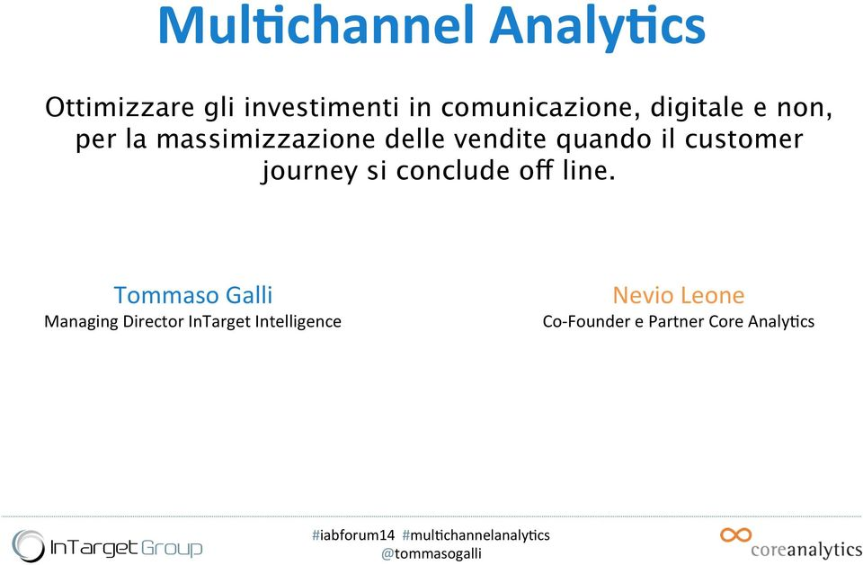 customer journey si conclude off line.