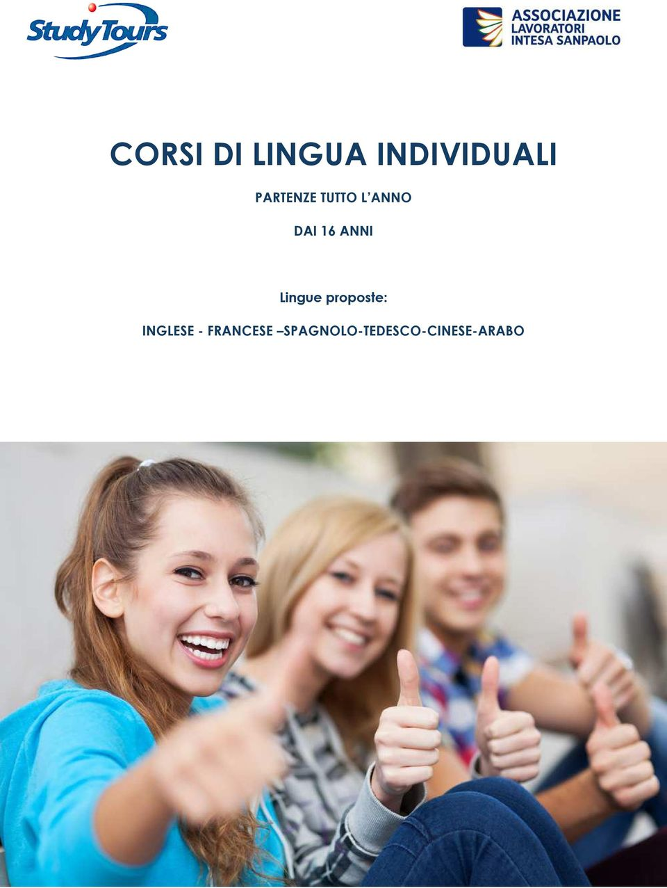 ANNI Lingue proposte: INGLESE -