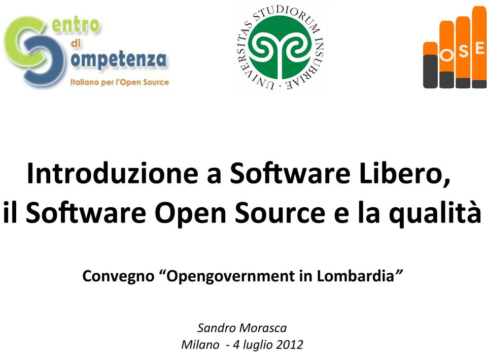 ware Open Source e la qualità
