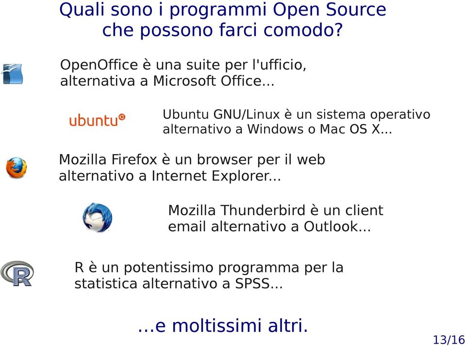 .. Ubuntu GNU/Linux è un sistema operativo alternativo a Windows o Mac OS X.