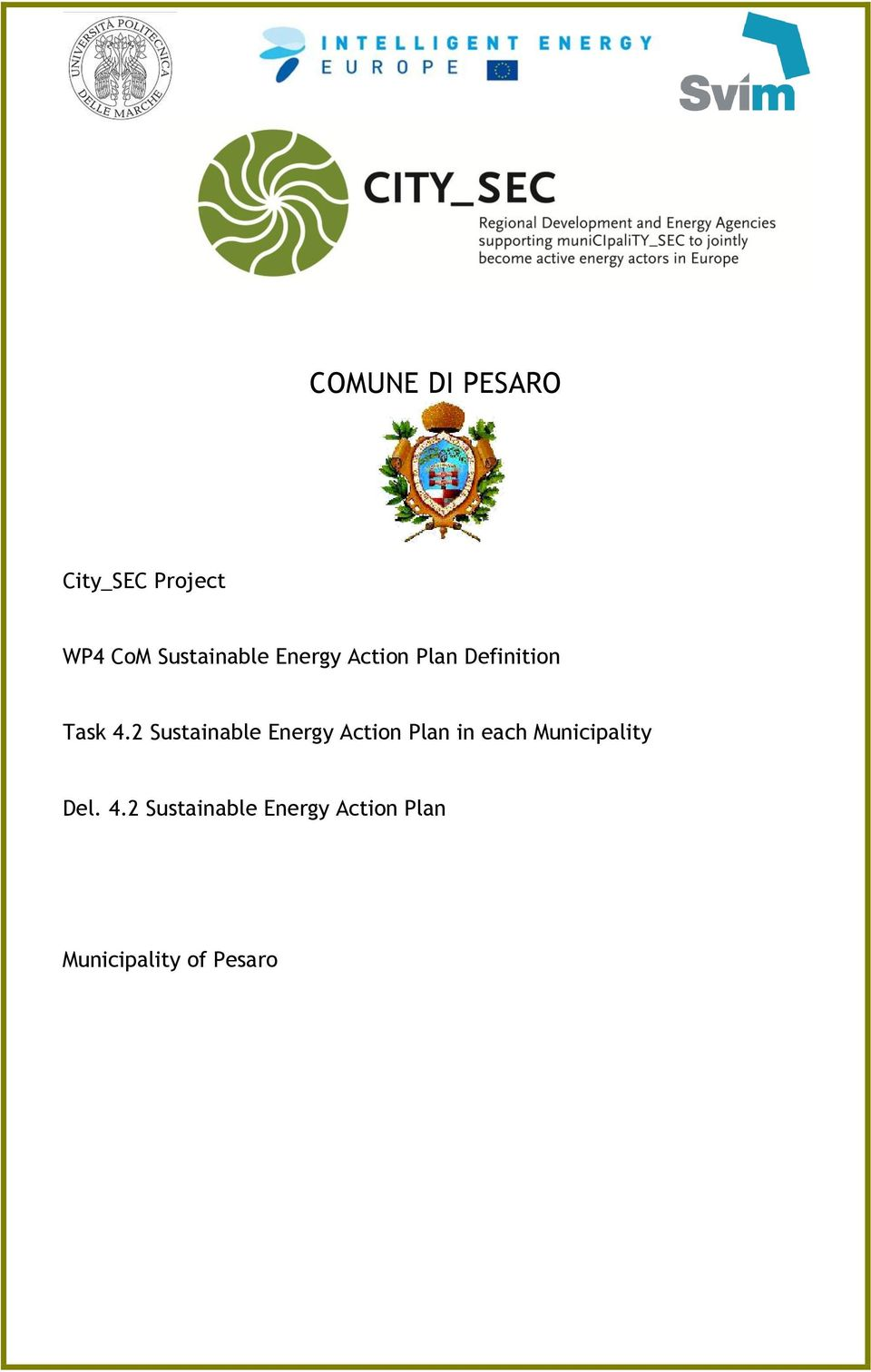 2 Sustainable Energy Action Plan in each