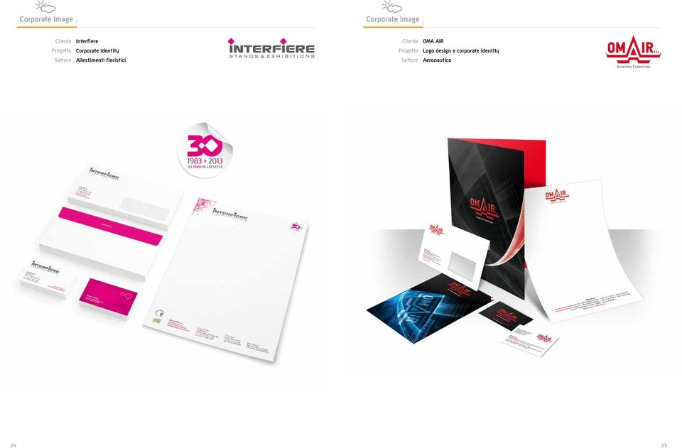 Identity Logo design e corporate