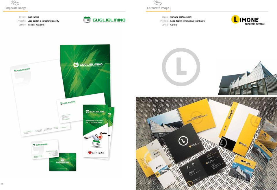 design e corporate identity Logo design