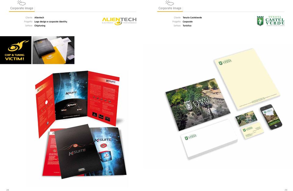 Logo design e corporate identity