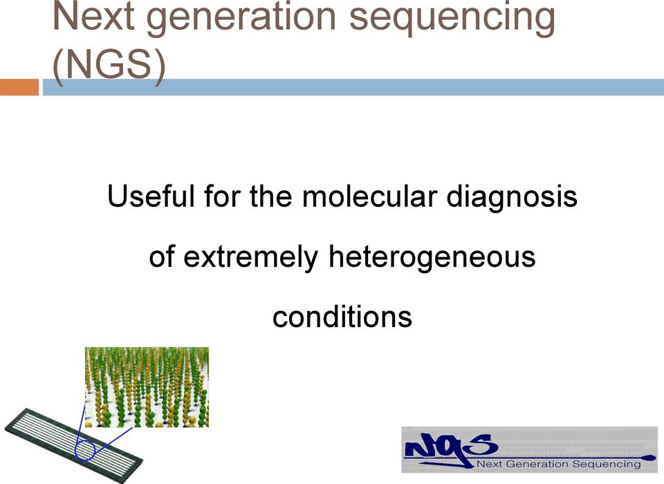 molecular diagnosis of