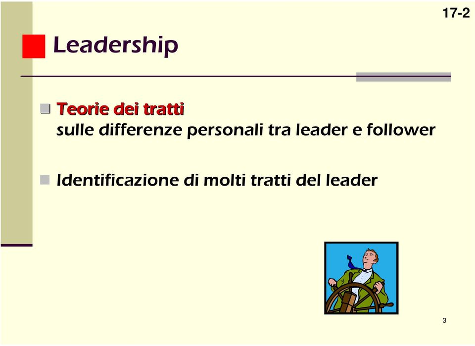 personali tra leader e follower