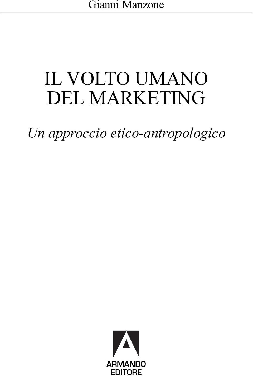MARKETING Un approccio