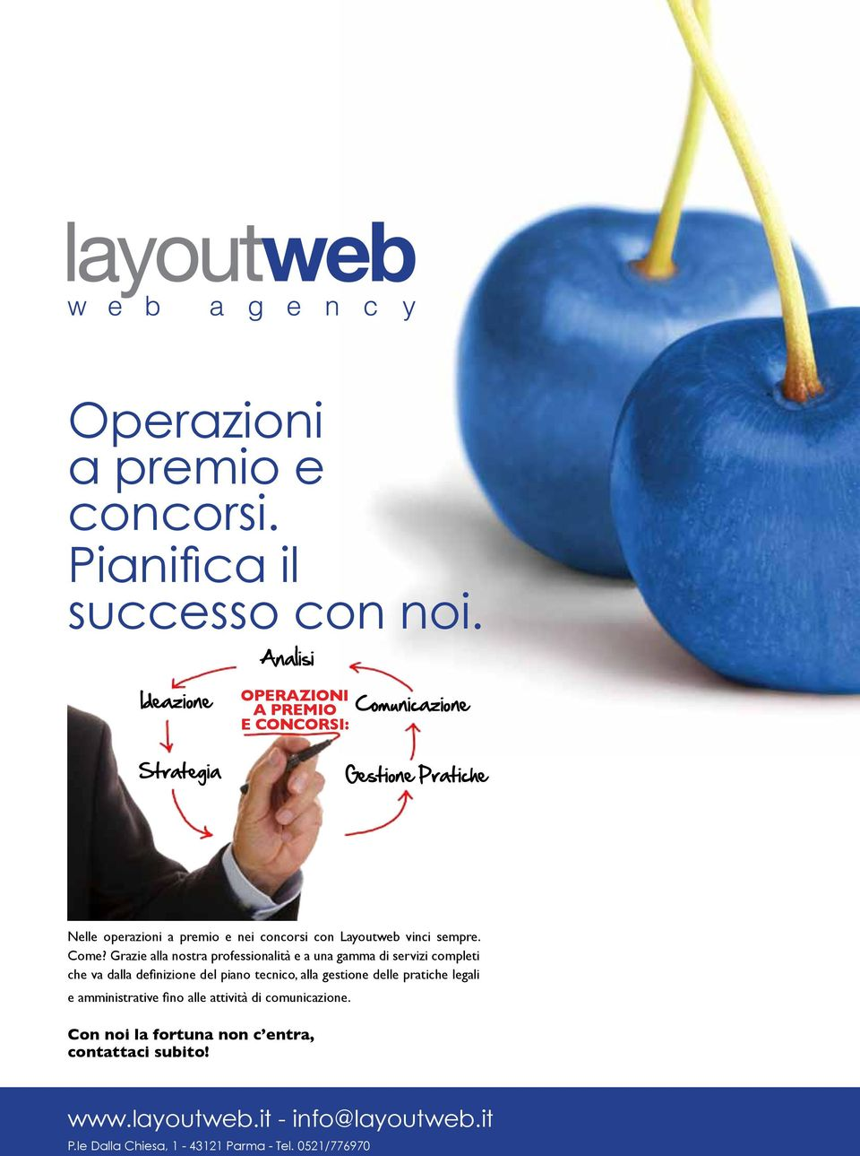 Layoutweb vinci sempre. Come?