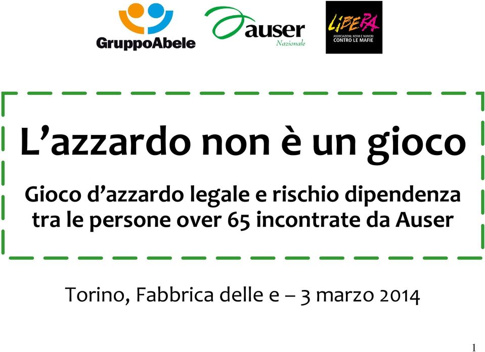 tra le persone over 65 incontrate da