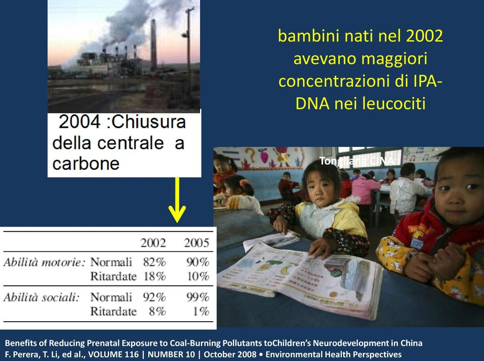 Coal-Burning Pollutants tochildren s Neurodevelopment in China F.