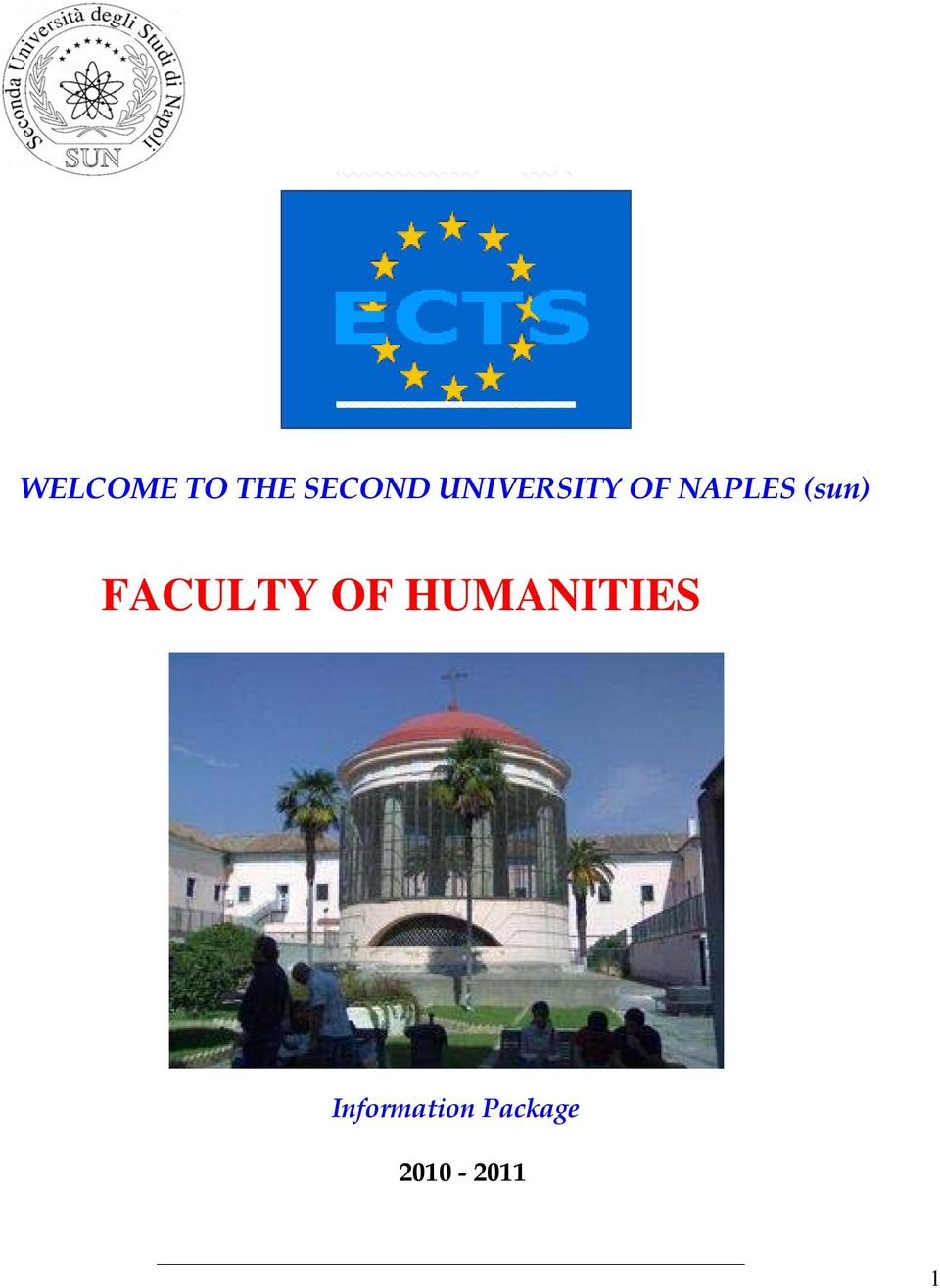 FACULTY OF HUMANITIES E CTS