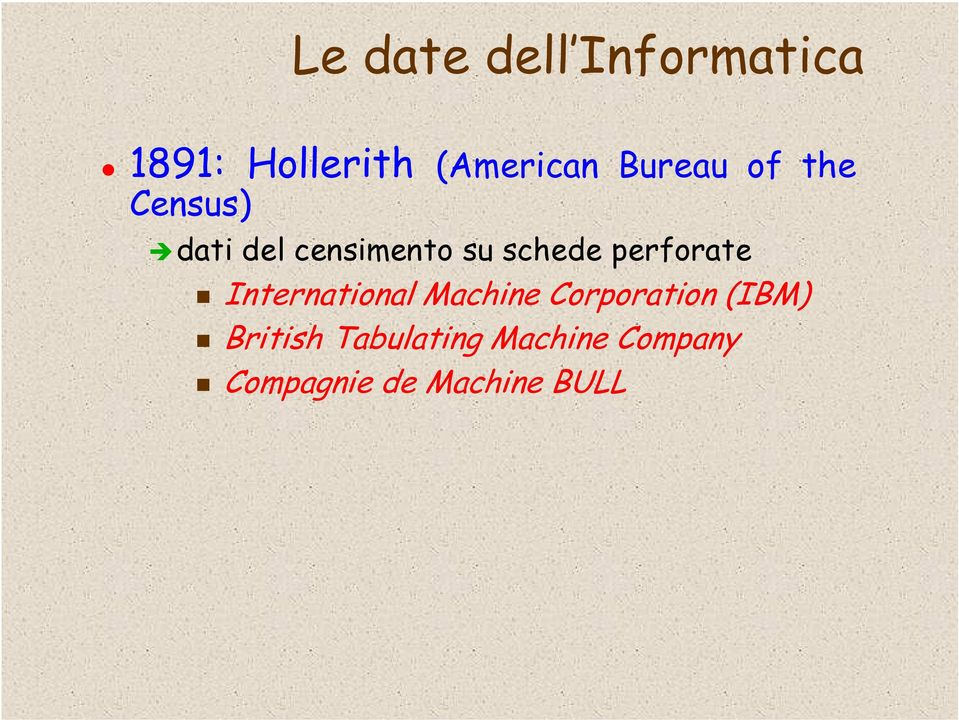 perforate International Machine Corporation (IBM)