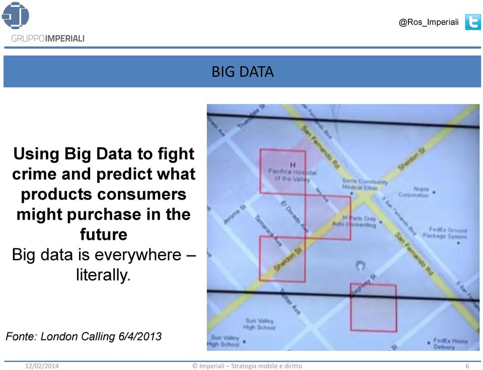 purchase in the future Big data is