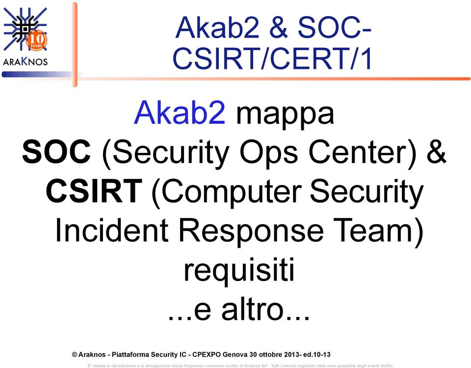 CSIRT (Computer Security Incident