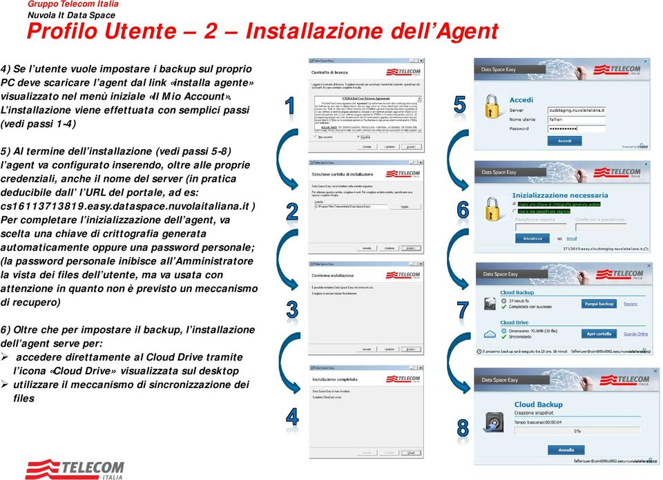 del server (in pratica deducibile dall l URL del portale, ad es: cs16113713819.easy.dataspace.nuvolaitaliana.