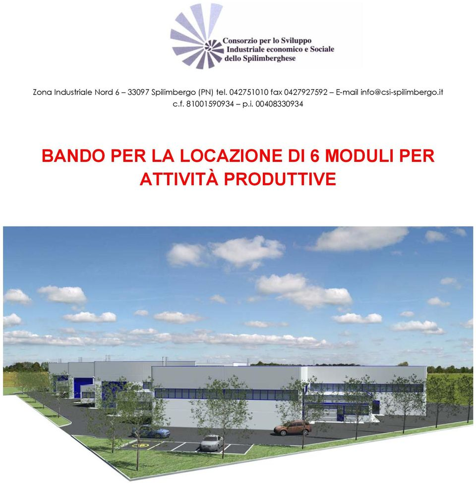 info@csi-spilimbergo.it c.f. 81001590934 p.i.