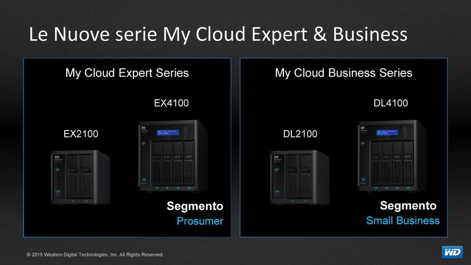 Cloud Business Series EX4100 DL4100