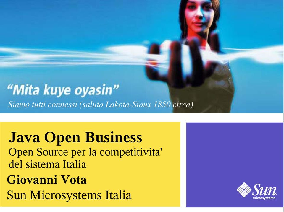 Business Open Source per la