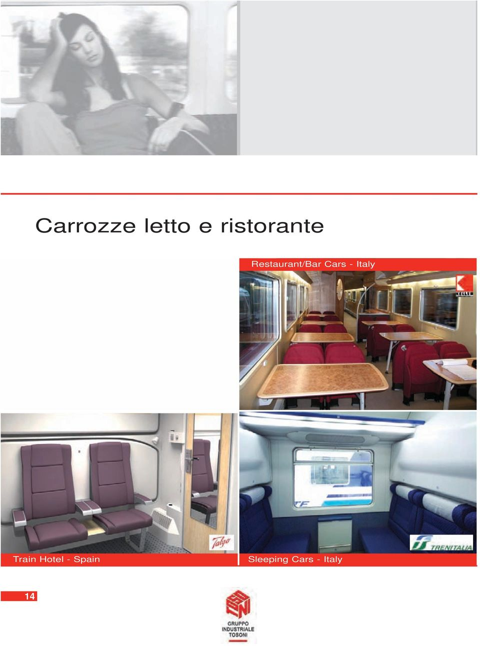 Restaurant/Bar Cars -