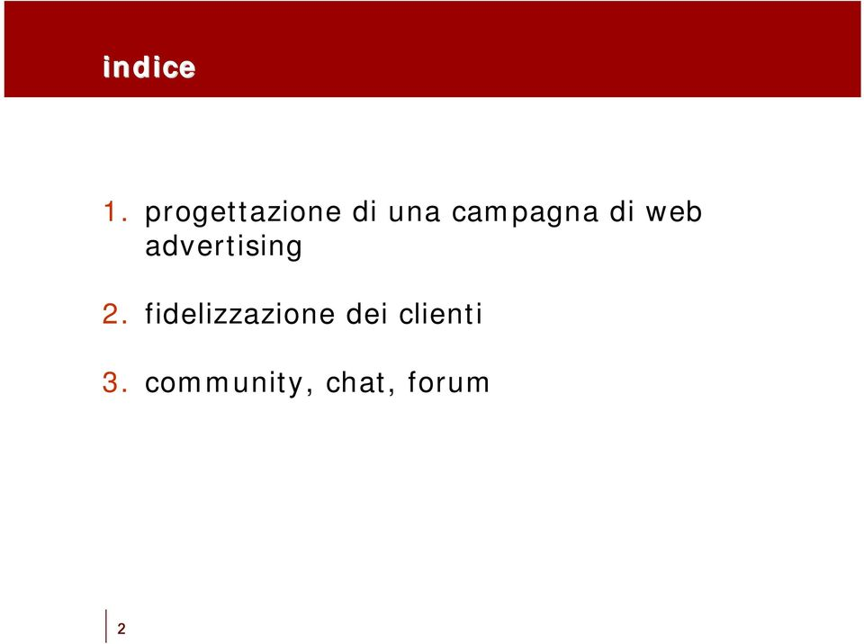campagna di web advertising