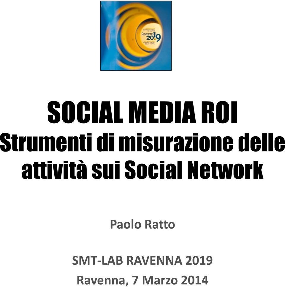 Social Network Paolo Ratto