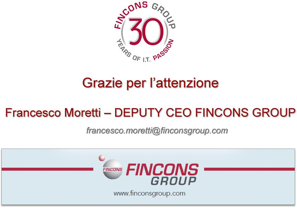 CEO FINCONS GROUP