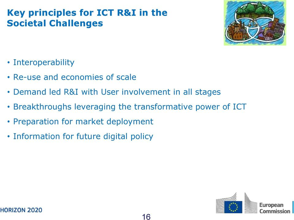 all stages Breakthroughs leveraging the transformative power of ICT