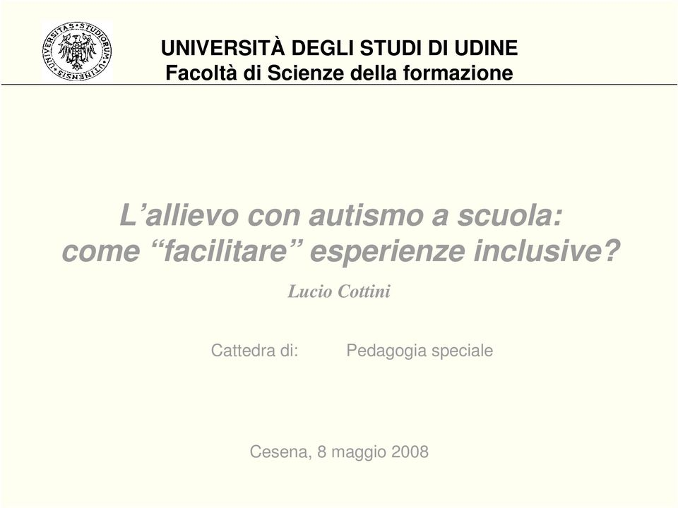 come facilitare esperienze inclusive?