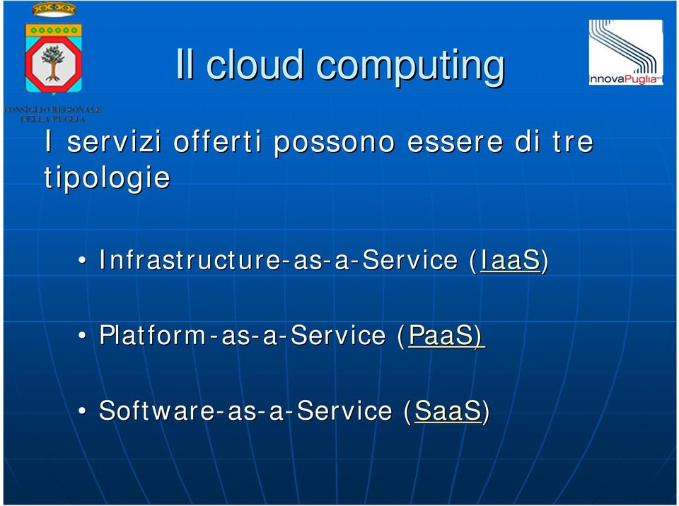 Infrastructure-as as-a-service (IaaS)