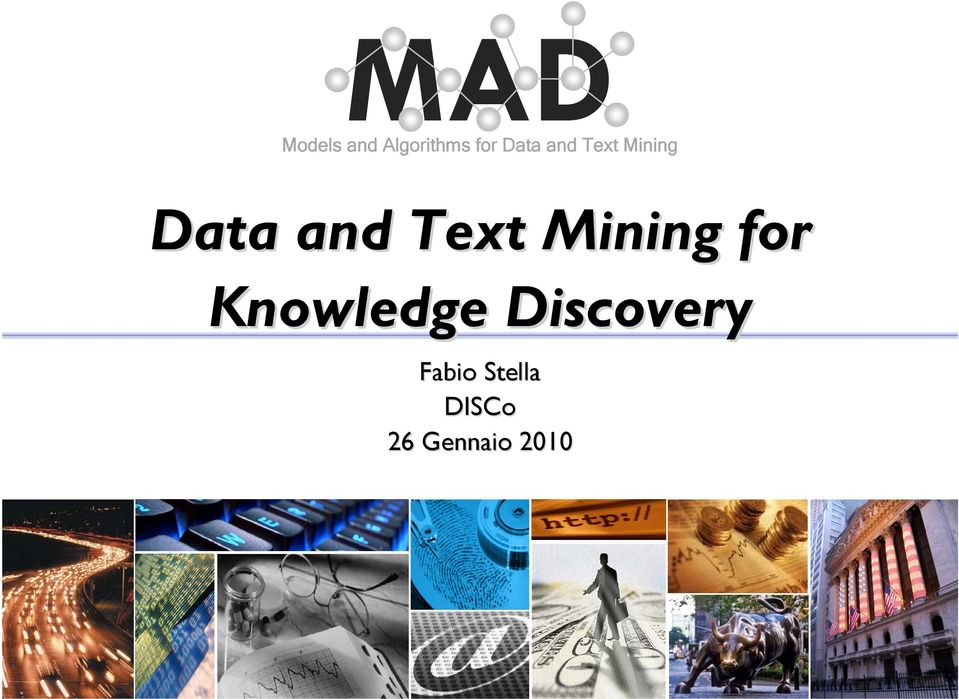 Text Mining for Knowledge