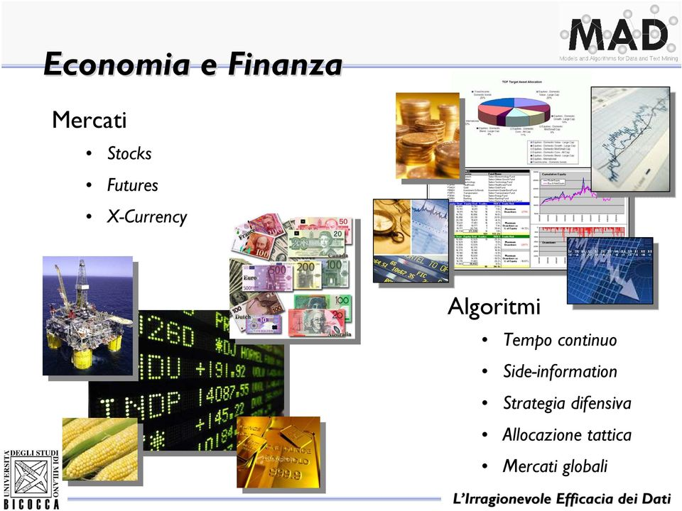 continuo Side-information Strategia