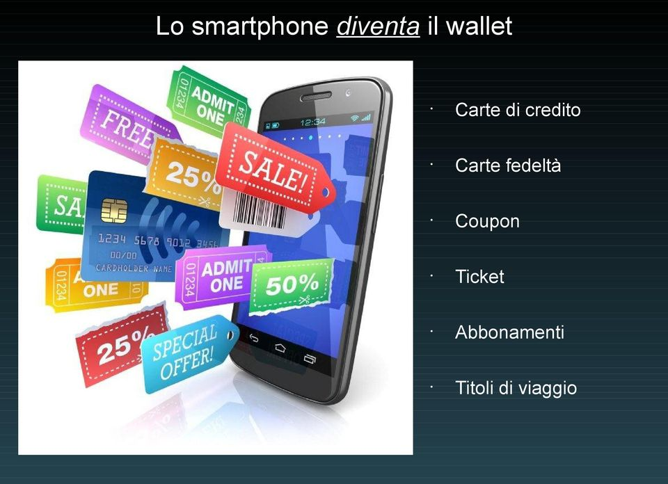 Carte fedeltà Coupon