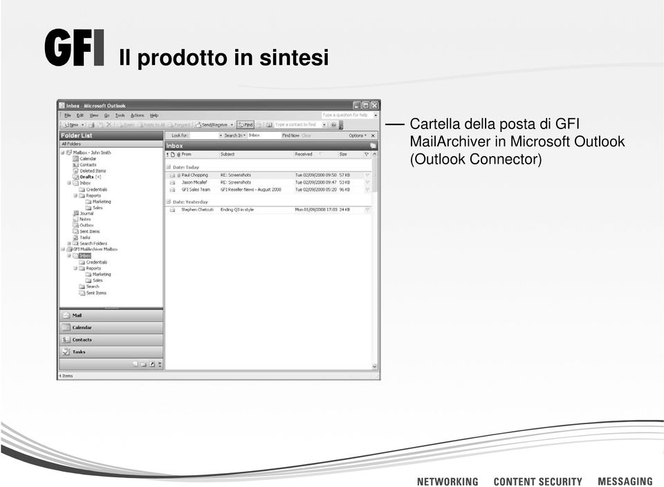 GFI MailArchiver in
