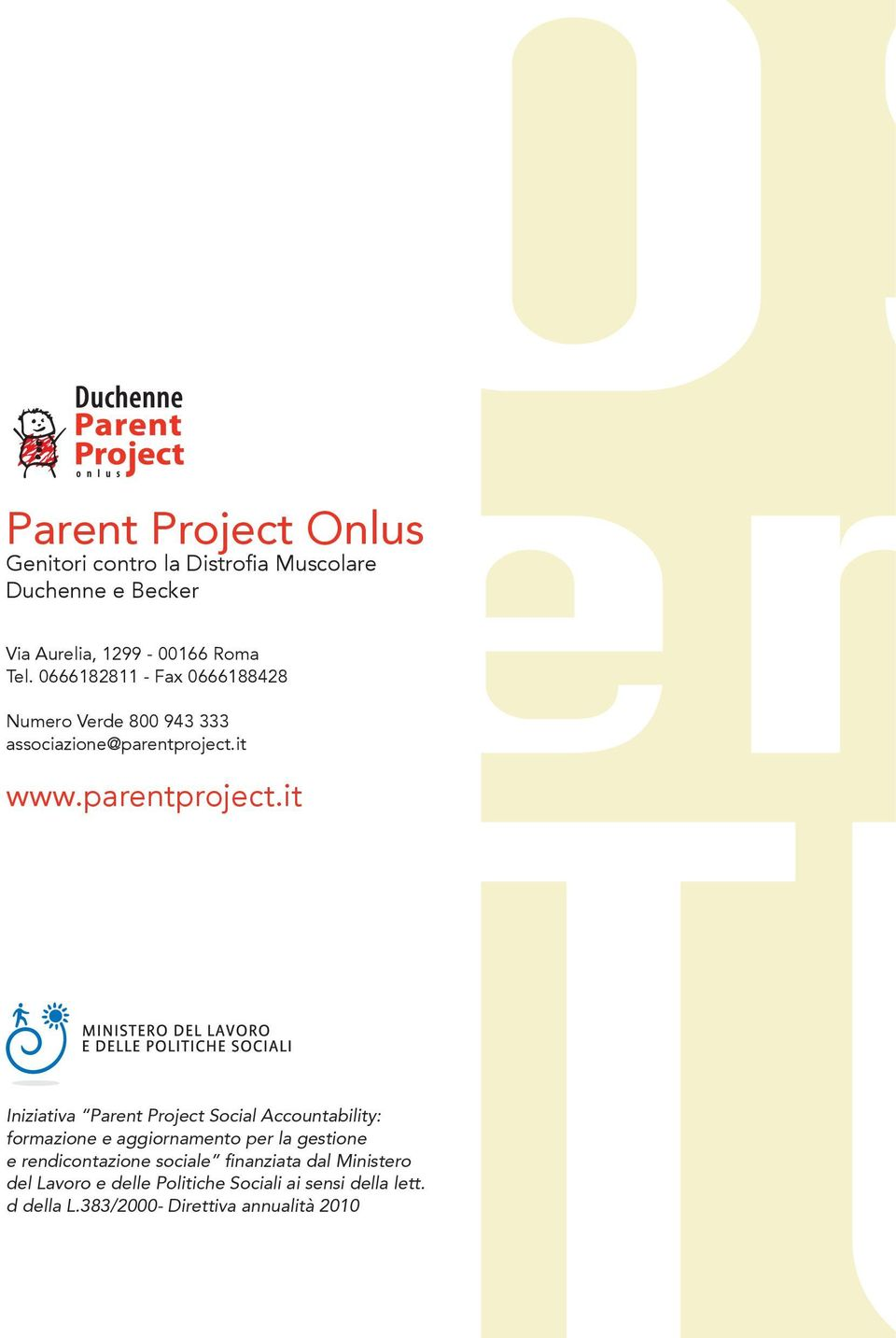 it www.parentproject.