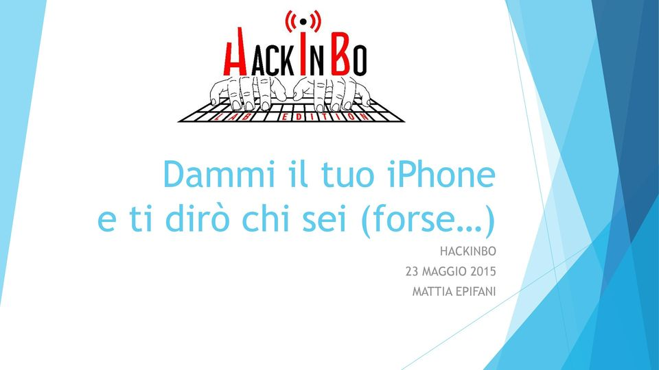 (forse ) HACKINBO 23