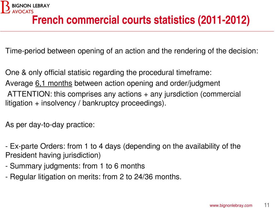 (commercial litigation + insolvency / bankruptcy proceedings).