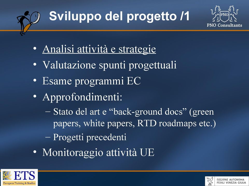 Approfondimenti: Stato del art e back-ground docs (green