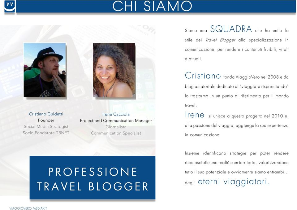 Socio Fondatore TBNET Irene Cacciola Project and Communication Manager Giornalista Communication Specialist travel.