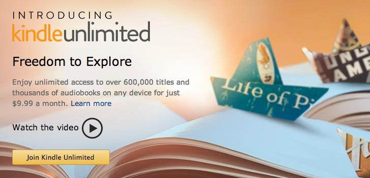 provides Kindle users with all the content they can consume from a potential library of over 600,000 titles for just $9.