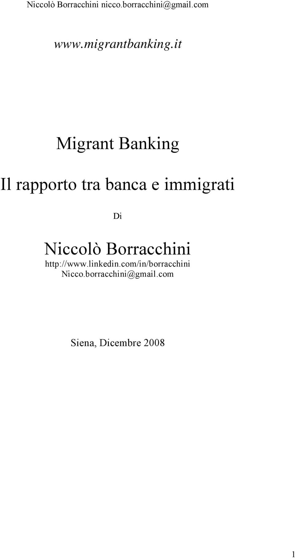 immigrati Di Niccolò Borracchini http://www.