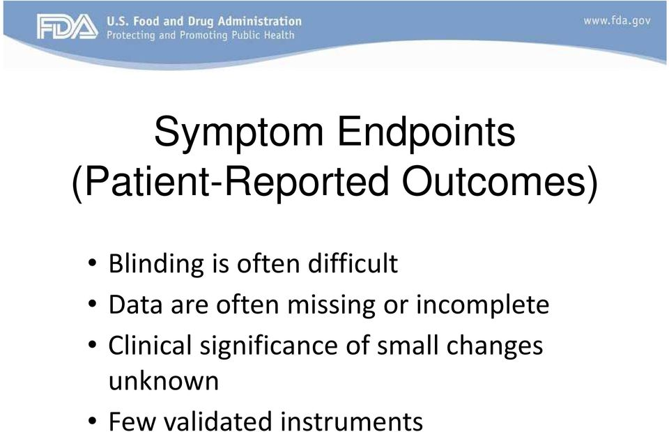 missing or incomplete Clinical significance