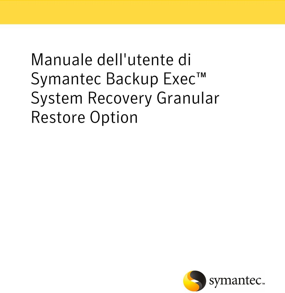 Exec System Recovery
