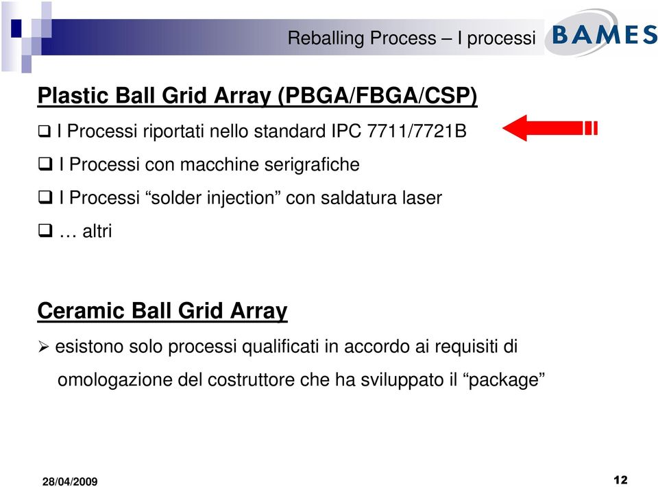 injection con saldatura laser altri Ceramic Ball Grid Array esistono solo processi