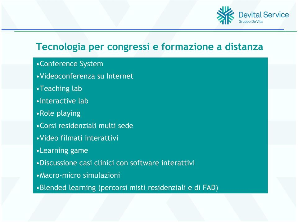 Video filmati interattivi Learning game Discussione casi clinici con software