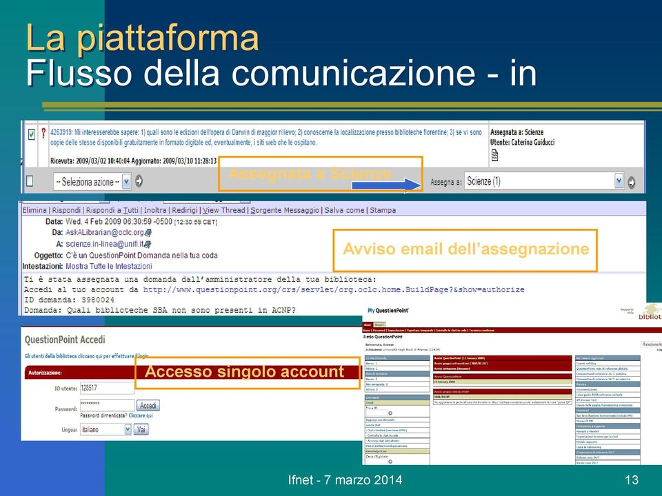 Scienze Avviso email dell