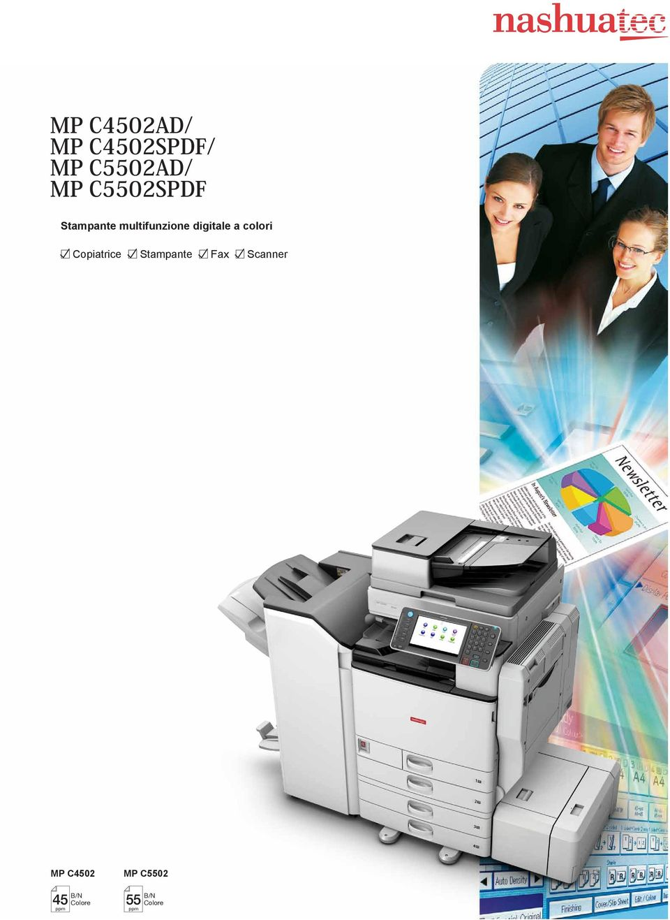 colori Copiatrice Stampante Fax Scanner MP