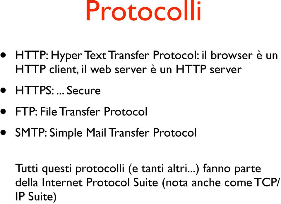 .. Secure FTP: File Transfer Protocol SMTP: Simple Mail Transfer Protocol