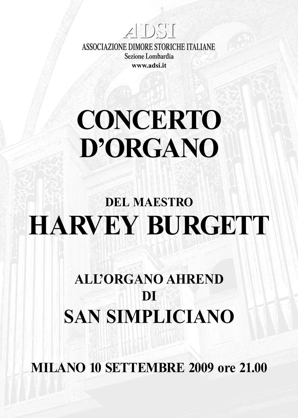 MAESTRO HARVEY BURGETT ALL