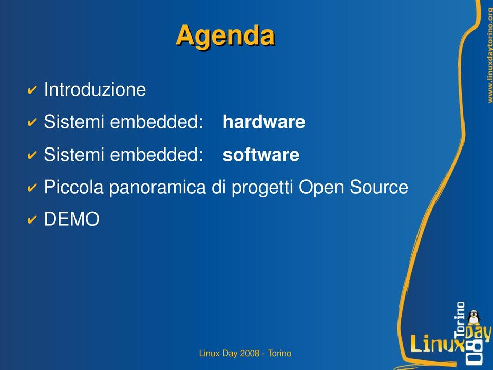 embedded: software Piccola
