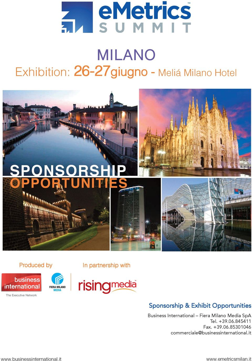 International Fiera Milano Media SpA Tel. +39.06.